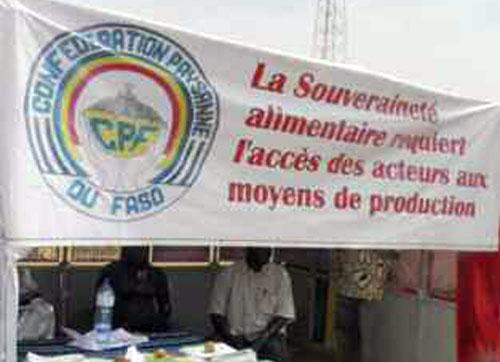 Auto-évaluation de la CPF au Burkina Faso : quelques leçons pour les organisations paysannes